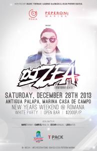 DJ ZEA Flyer