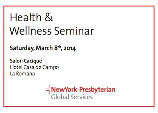 health and wellness seminar