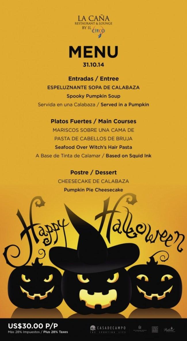 halloween special menu-la caña 2014-01