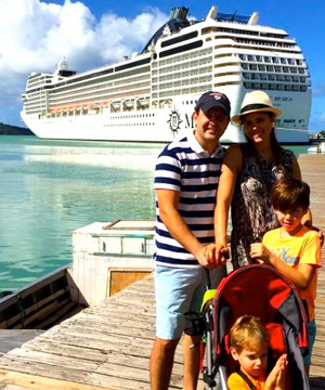 Renata Sone MSC Cruise SILGON
