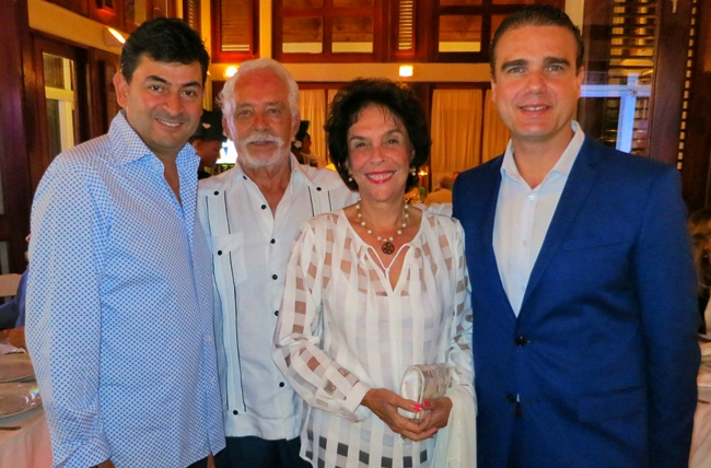 Daniel Hernandez, Antonio Esteban, Dolly Esteban, Rafael Torres