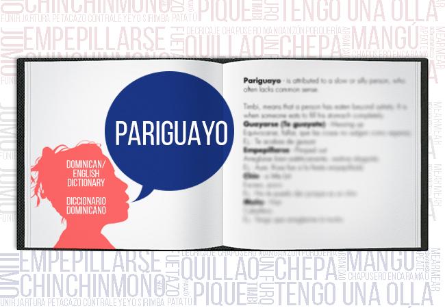 Dominican-DictionaryPariguayo