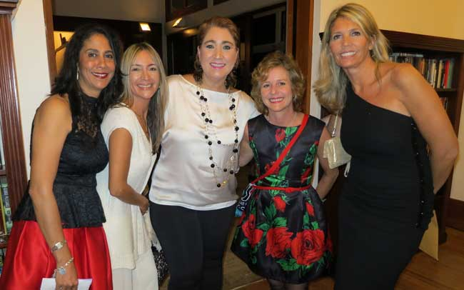 Sandra Alvarado, Gricelle LaHoz, Xiomara Menendez, Alessandra Avanizini