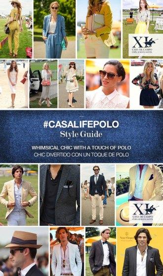 Casa de Campo Copa Semana Santa style guide