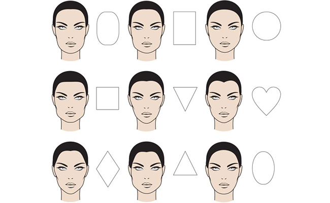 Face Shape Illustration