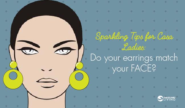Sparkling Tips: Earrings
