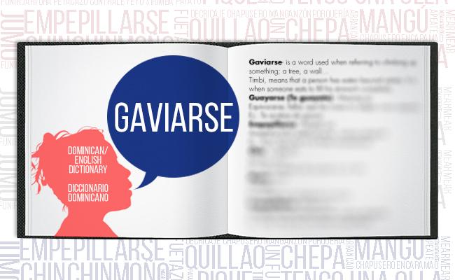 Dominican Dictionary Gaviarse