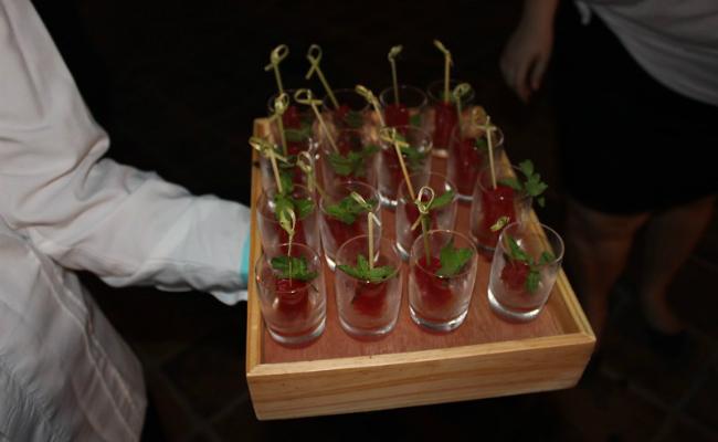 CDCFWF, Coctel de Apertura -  Watermelon Mojitos