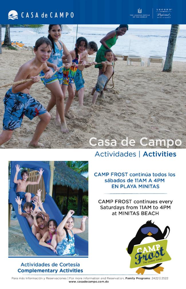 Camp FROST Saturday Fun