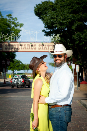 Rebecca and Philip Silvestri at Fort Worth