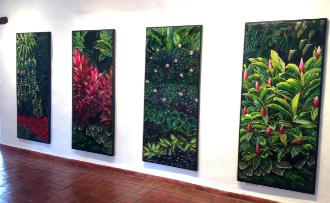 SOSIEGO by Fátima Renedo - Tropical Paintings