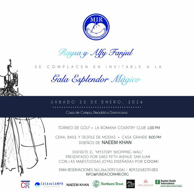 Invitación Gala Español