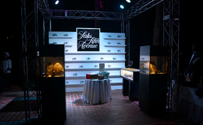 Saks and Coomi Exhibit at Gala
