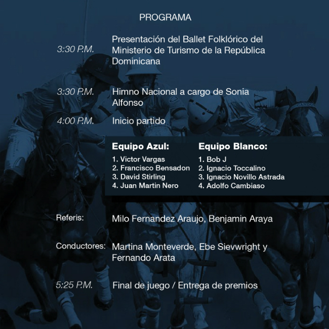 Polo Challenge Charity Cup Program