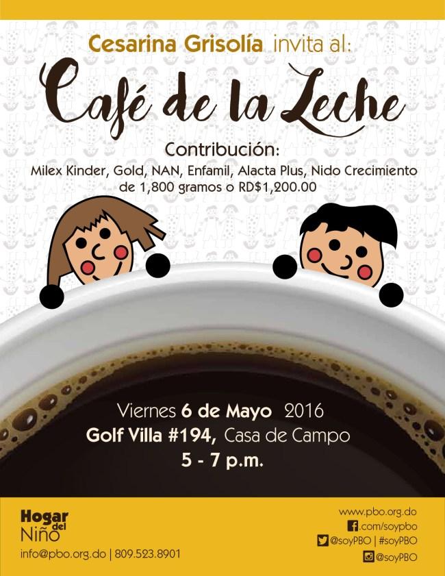 Cafe de la Leche May 2016 Flyer