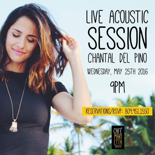Chantal del Pino Cafe Marietta Flyer