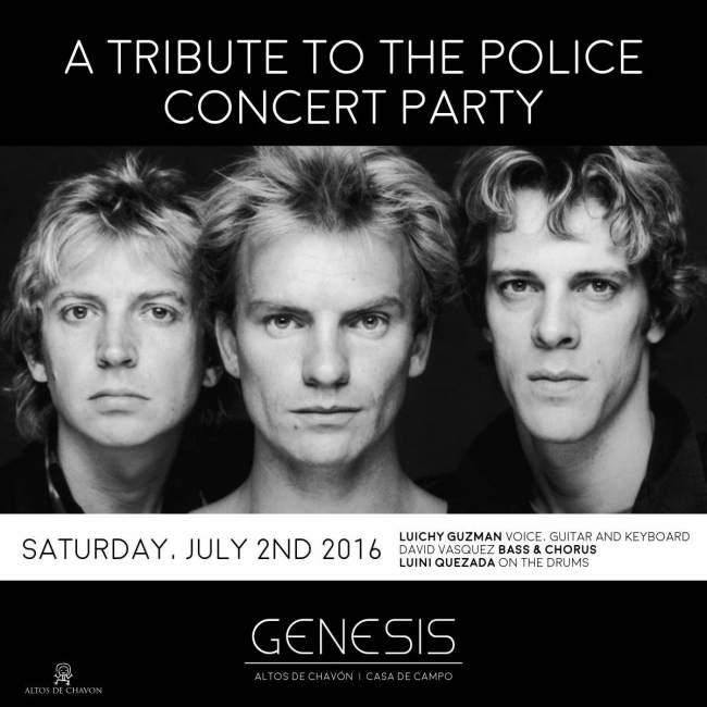 The Police Tribute Concert Genesis Nightclub