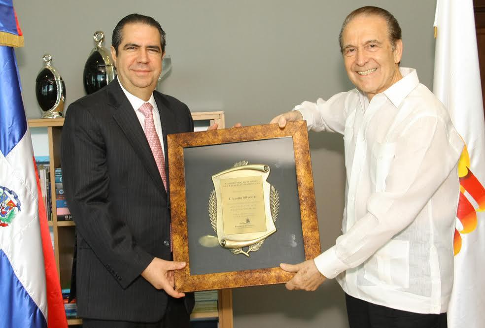 Francisco Javier García and Claudio Silvestri. Picture from queesnoticias.com.do