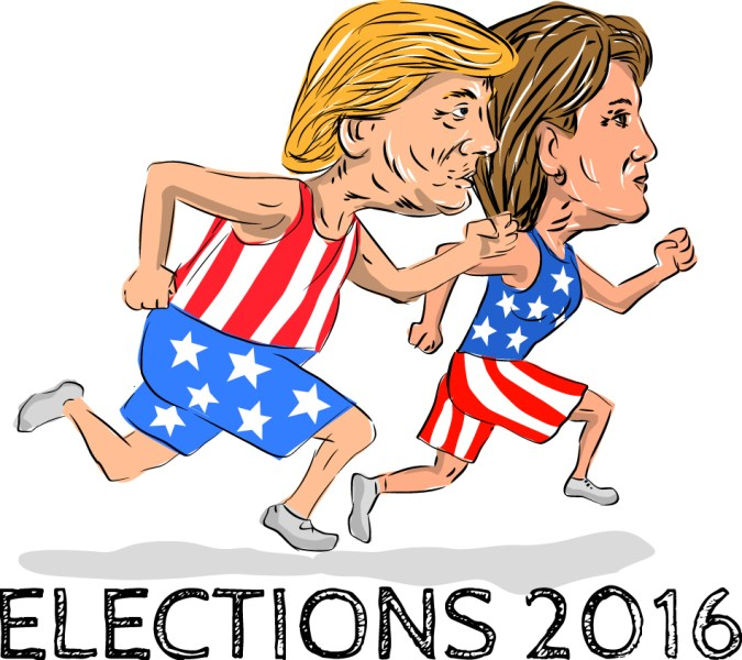 Hillary or Trump Halloween costume