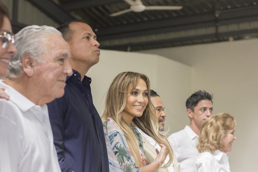 Jennifer Lopez visits Fundación MIR