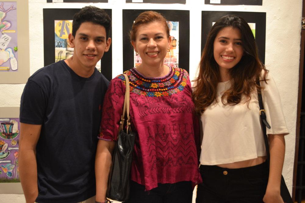 Art School Invitation Gallery Exhibit