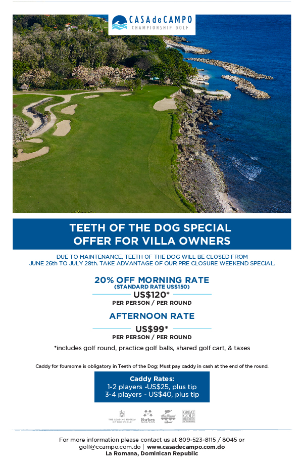 Teeth of the Dog Weekend Special