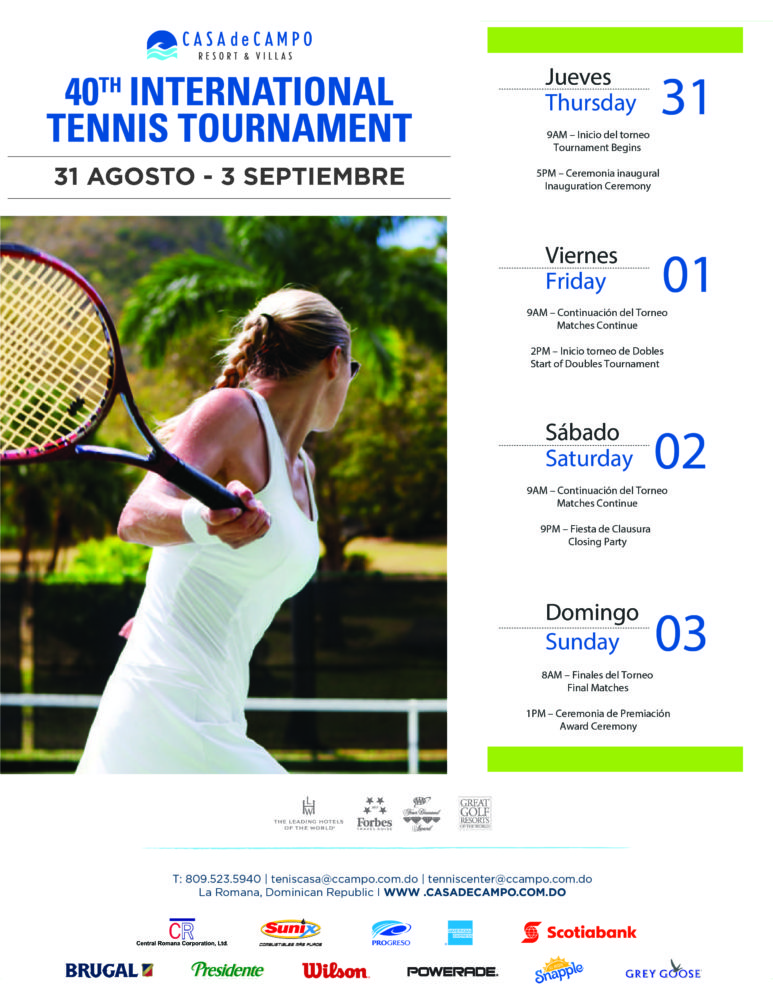 40th International Tennis Tournament