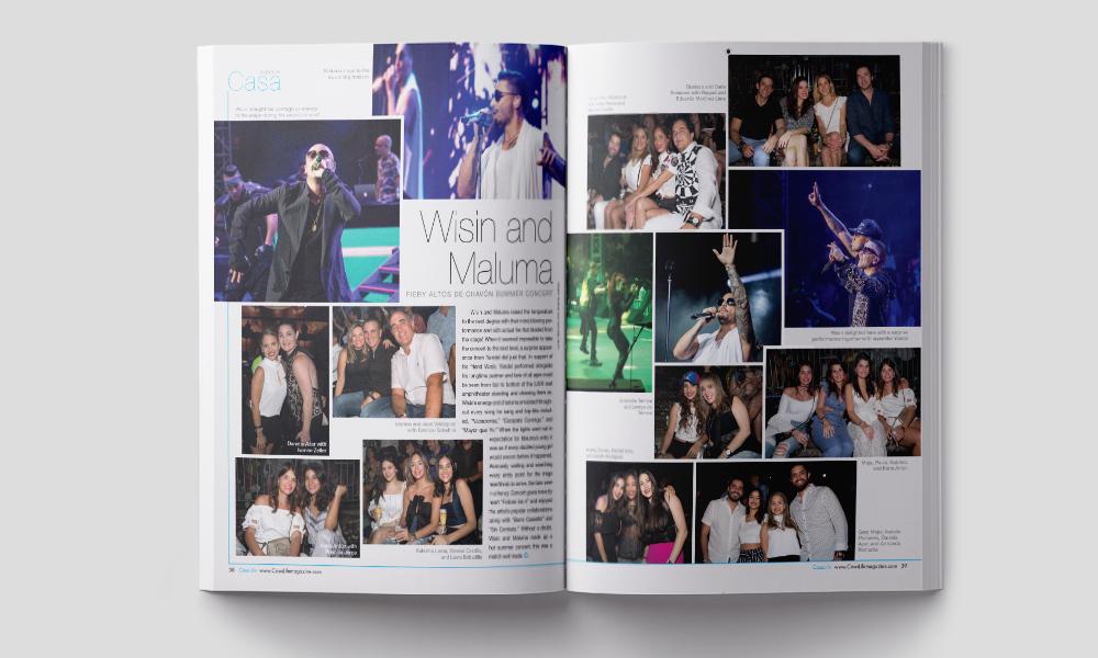 Maluma and Wisin concert