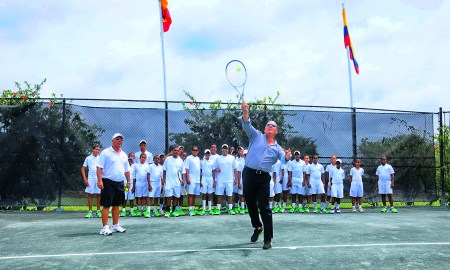 Peter Bonell tennis Casa de Campo