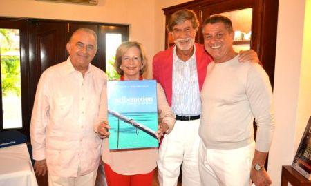 Gustavo Cisneros, Patricia Cisneros, Gian Carlo Ricco, Mauro Torriani Bellini