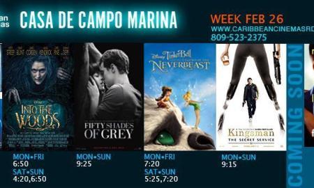Marina Casa de Campo cine