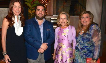 Raysa Fanju,l Michael Stillman, Lian Fanjul de Azqueta y Lyanne Azqueta