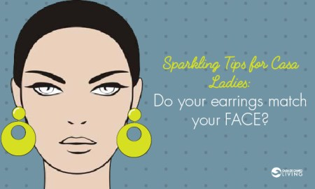 Sparkling Tips: Earrings