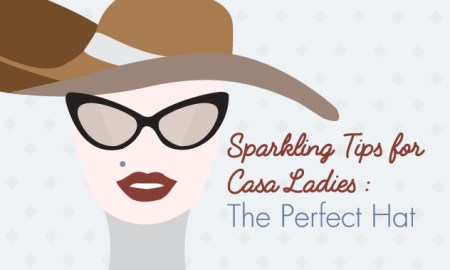 Sparkling Tips: The Perfect Hat