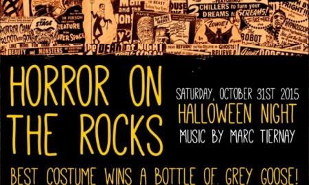Horror on the Rocks at Café Marietta Flyer