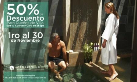Casa de Campo Spa Discount