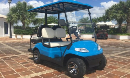 Eco Planeta Caribe Golf Cart