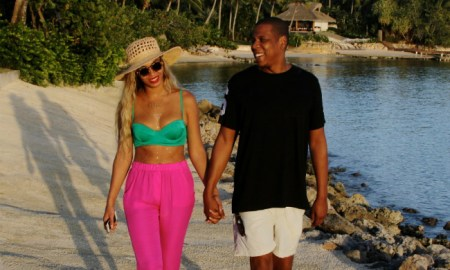 Celebs in Casa 2015 - Jay-Z & Beyonce