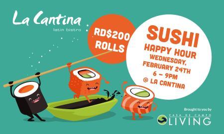 La Cantina Sushi Happy Hour