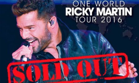 Ricky Martin Sold Out