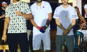 Drake, French Montana and Noah Shebib