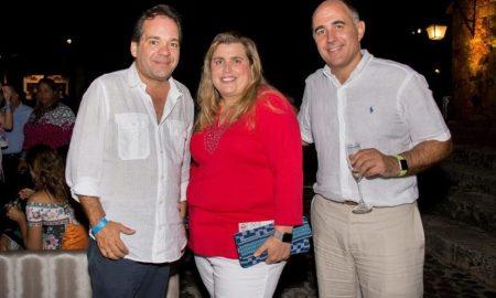 Jose Antonio Lara, Lyanne Azqueta and Fabricio Schettini