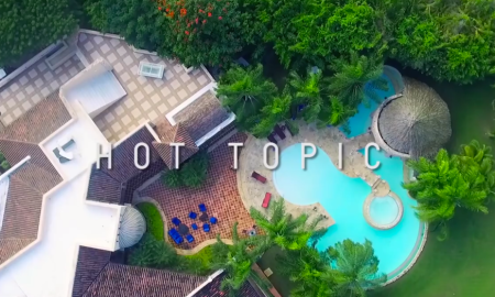 """Hot Top"" filmed in Casa de Campo"