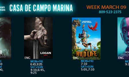 Marina Casa de Campo movie times