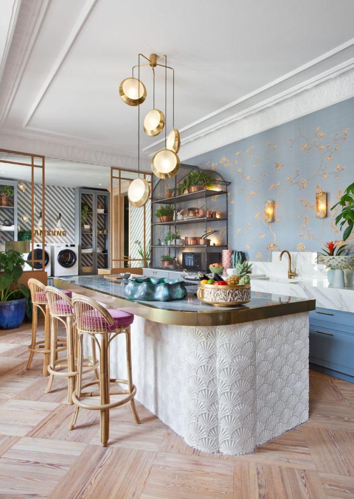 Espacio Samsung Trendy Kitchen de Beatriz Silveira en