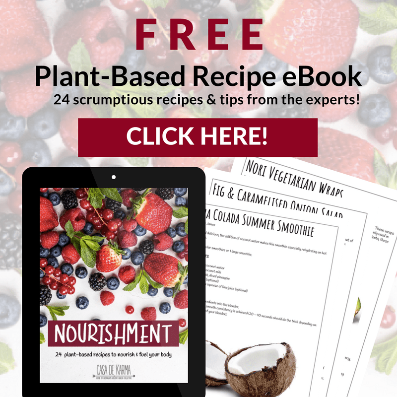 Don't forget: Sign up to receive my top 3 smoothie recipes inside the pages of this nourishing eBook.