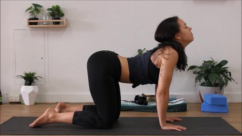 yoga for flexibility - step 13