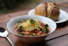 Tomato Noodle Soup With A Twist