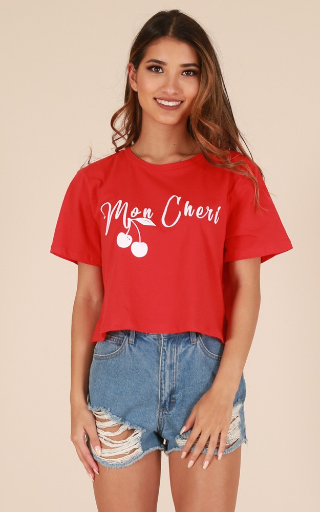 affordable fashion buy online red shirt