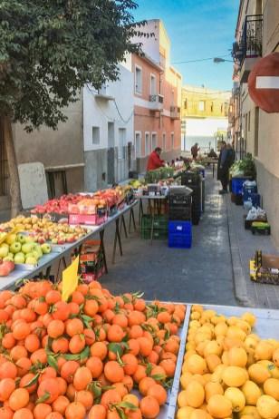 Bed & Breakfast Hondon Alicante markt
